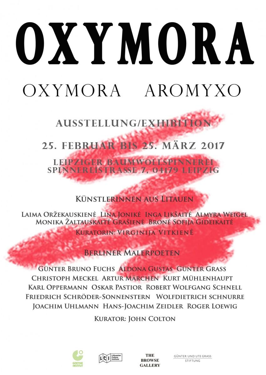 Oxymora - Berliner Malerpoeten und zeitgenössische litauische Künstlerinnen